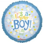 "BABY BOY BALLOON 18""  19171-18"